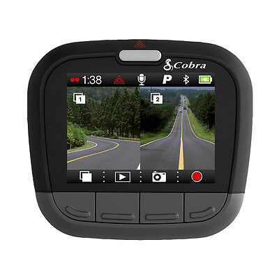 "Cobra Drive HD CDR895D Professional Truck Car Dash Cam Camera 1080p HD 2"" Screen"