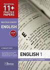 11+ Practice Papers, English Pack 1, Multiple Choice: Test 1, Test 2, Test 3, Test 4 by GL Assessment (Pamphlet, 2010)