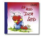 Oups Minibuch - Ich hab Dich lieb von Kurt Hörtenhuber (2013, Gebundene Ausgabe)