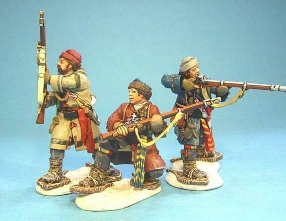 John Jenkins Designs 1 30th scale SF-04 Battle on Snowshoes French militia