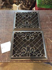 P 16 6 Av Price Separate Antique Floor To Wall Mount Heating Grate 13.5 x 14.5