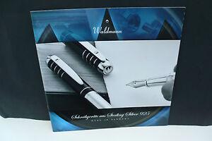 2012 waldmann f ller prospekt pen brochure katalog ebay. Black Bedroom Furniture Sets. Home Design Ideas