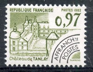 STAMP-TIMBRE-FRANCE-NEUF-PREOBLITERE-N-174-CHATEAU-DE-TANLAY-YONNE