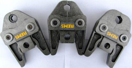 3 Stück REMS Pressbacke V oder M 12 15 18 22 28 35 Z.B Presszange Akku Press ACC
