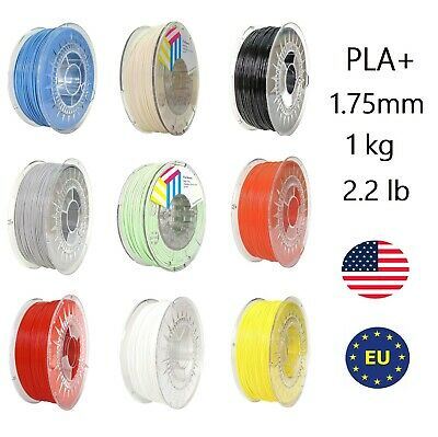 Premium 3d Printer Filament 1kg/2.2lb 1.75mm Accuracy Eolas Pla /-0.03mm Bag Aromatic Flavor