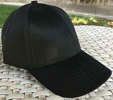 DPC Dorfman Pacific Fitted Ball Cap XXL 62-63cm 7 7/8 baseball BLACK 100% Cotton