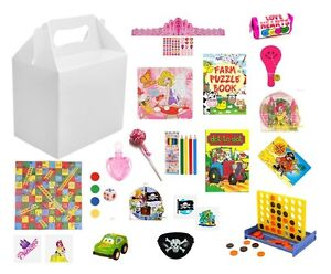 Image Is Loading Personalised Wedding Activity Favours Box Childrens Kids Packs