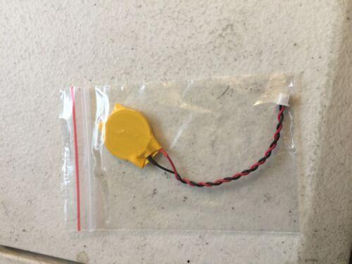 Cmos Battery for Dell E6420 E6420XFR E6520 PRECISION M3800 Alienware M11x 2 wire