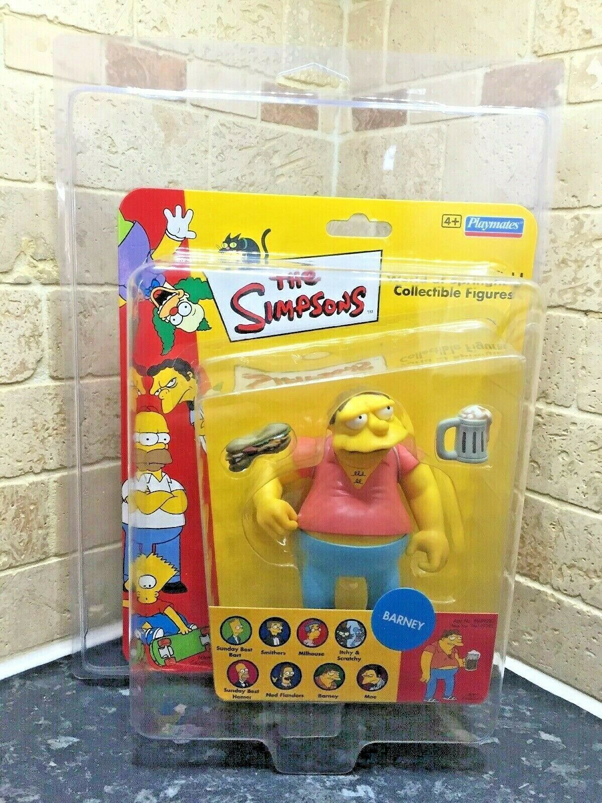 Uk Exclusive The Simpsons Barney WOS Vivid Imaginations Figure Zoloworld Case