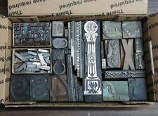 Wood Type Metal Type Print Blocks Assorted Letterpress Printing Kelsey