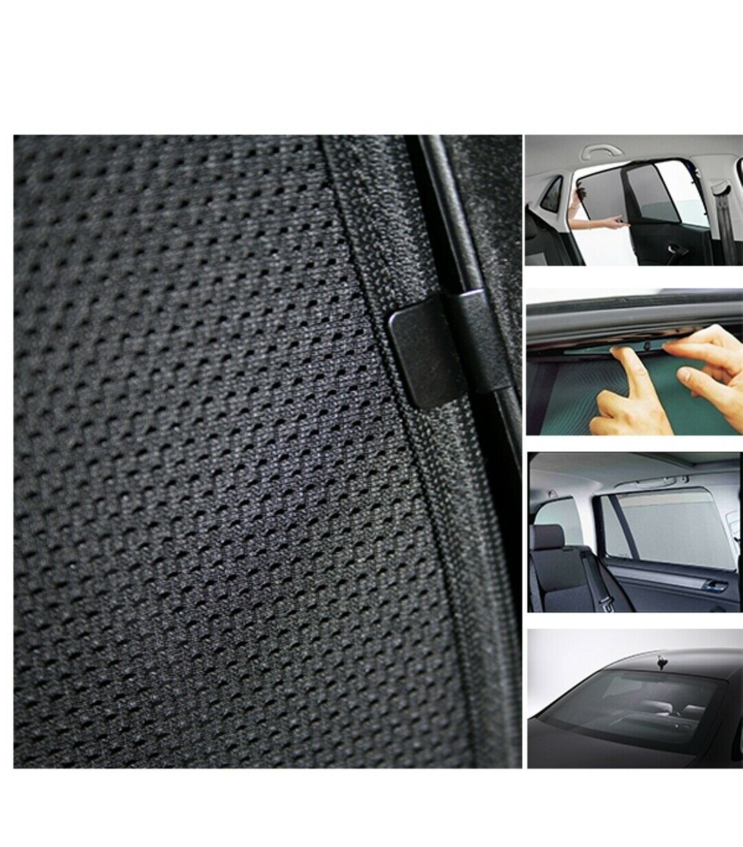 LYXMY 2 St/ück Auto Jalousien Sonnenschutz Fenster Moskitonabdeckungen blockieren UV-Strahlen Anti-Insektenschutz Staubdicht Mesh Screen Netz M M