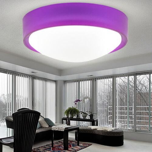 LED Decken Lampen Schlaf Zimmer Strahler Beleuchtung Grün Purple Silber Leuchten