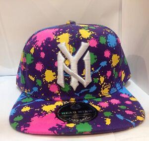 Snapback Ny Baseball Baseball Cap Black Black Ny Snapback wPqx8f85BC