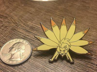 "Pokemon Ninetales ""Flare Blitz"" Fantasy Hard Enamel Pin"
