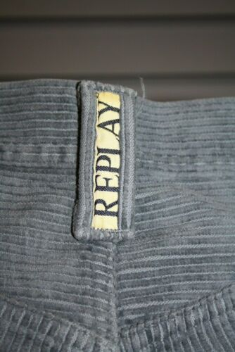 Replay Jeans M901 Cord grau neu Kult der 90er Vintage