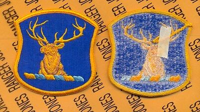 US Army Chemical School Cadre /& Student patch m//e