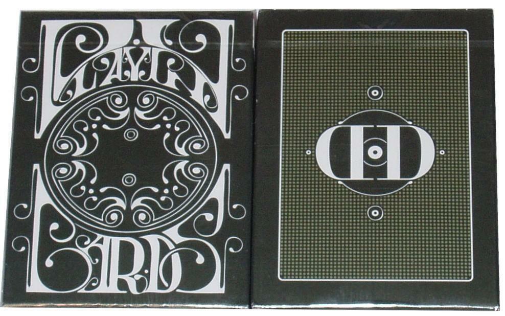 Carte da gioco SMOKE & MIRROR V4 GREEN 1° edizione byDAN & DAVE