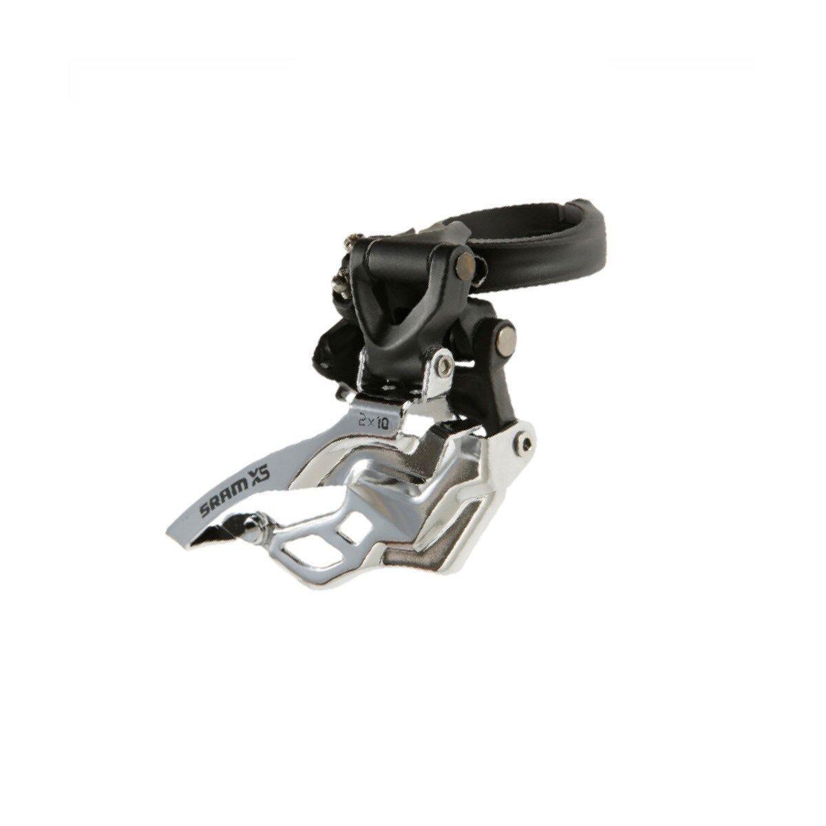 Sram X5 Deragliatore Anteriore 2x10 Basso Morsetto 31.8/34.9 Nero Dual Pull