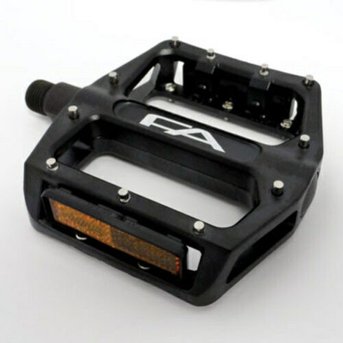 Free Agent Pedal Alloy 9//16/'/' Black W//Removable Pins