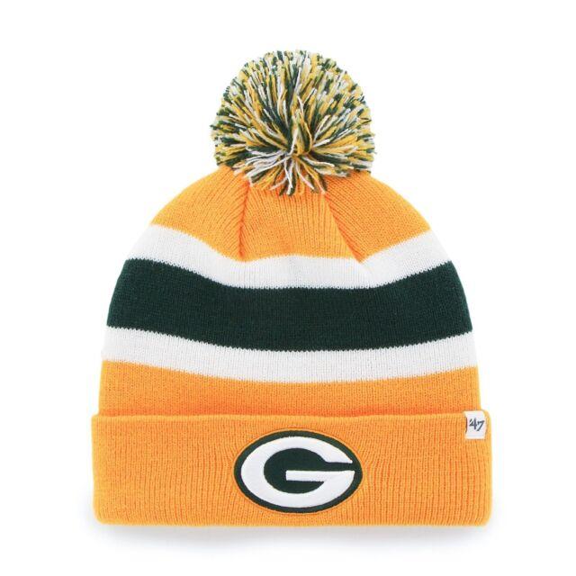 Bridgestone NFL Breakaway Cuff Knit Beanie Green Bay Packers One ... bed70a135