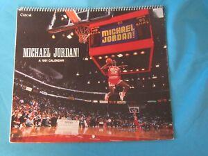 1991 CLEO MICHAEL JORDAN AIR JORDAN SLAM DUNK CALENDAR 70508900065 ... 3b13ab011ce8