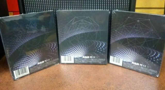 3 Tool Fear Inoculum Limited Deluxe Edition Albums Trifold Cd W 4 Hd Scrn New