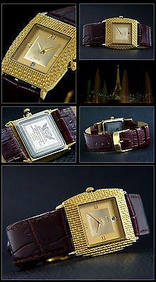 High Class Designer Liu Edessa Serie Ip Dorato Con Box & Documenti-