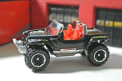 1:64 Anniversary Edition Matchbox Jeep Hurricane Black /& Red Loose
