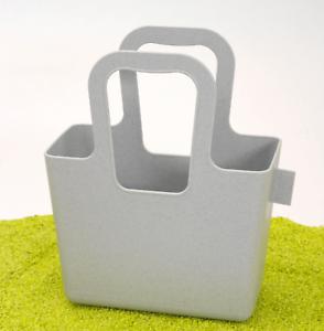 koziol Organic Tasche XL organic pink Bio-Kunststoff Aufbewahren Einkaufen