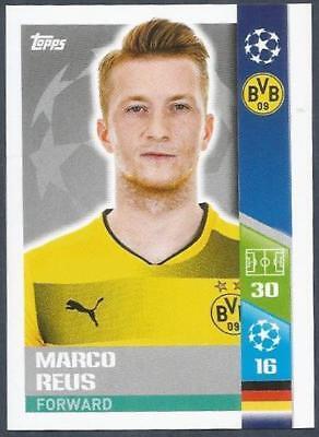 Champions League 17//18 Marco Reus Borussia Dortmund Sticker 115