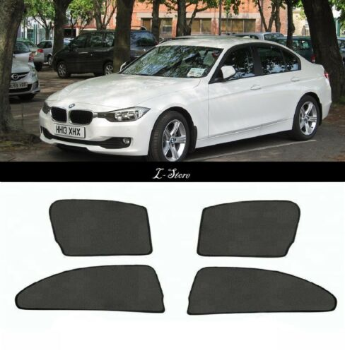 For BMW 3 F30 2012-2018 4-Pcs Set Car Window Sun Shade Solar Shield Blind Mesh