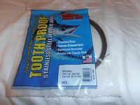 Amf---stainless-- 13--tooth Proof--brown--195--1/4 Pound Package