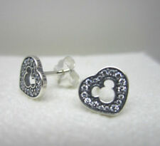 d4e60a72b Genuine Pandora Disney Mickey Silhouette Stud Earrings Clear CZ 290579CZ