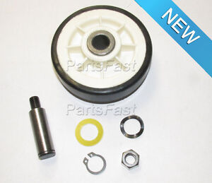 Image is loading NEW-REPLACEMENT-MAYTAG-DRYER-DRUM-ROLLER-SUPPORT-KIT-