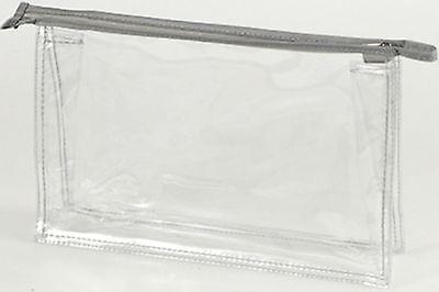 HALFAR KULTURTASCHE Zipper Bag Universal/Klarsichtfolie - 27 x 17 x 7 cm (2)