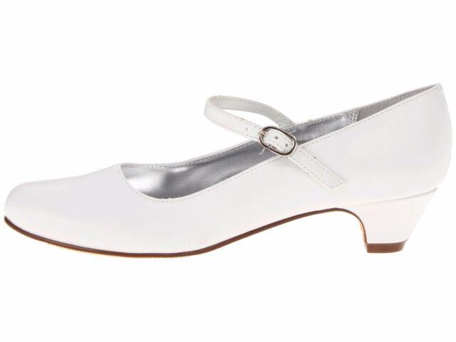Nina White Dress Shoes 1 1/4 \