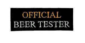 Patch-patches-embroidered-badge-backpack-cloth-biker-official-beer-tester