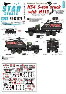 Star-Decals-1-35-Vietnam-Gun-Trucks-2-35c1177