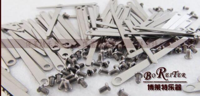 50 pcs clarinet leaf springs parts +50pcs springs Screws