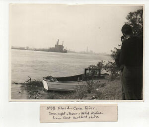 Image Is Loading EAST HARTFORD CT Photos 1938 GREAT HURRICANE Amp
