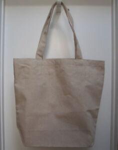 ORGANIC-COTTON-USA-Made-Shopping-grocery-Bag-No-logos