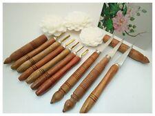 Set Knife Fruit & Soap Carving Thai Knives Handle Wood BRASS HANDMADE TOOLS