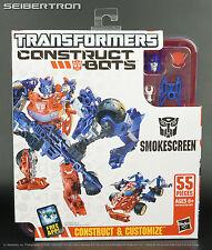 Construct-Bots SMOKESCREEN Elite Class Transformers E1:06 G1 Hasbro New 2013