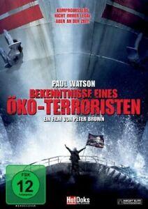 BEKENNTNISSE-EINES-OKO-TERRORISTEN-PAUL-WATSON-Paul-Watson-DVD-NEUF