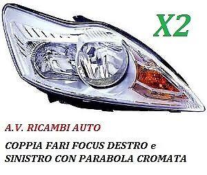 FARO PROIETTORE ANTERIORE DESTRO PARABOLA CROMATA DAL 2007 AL 2011