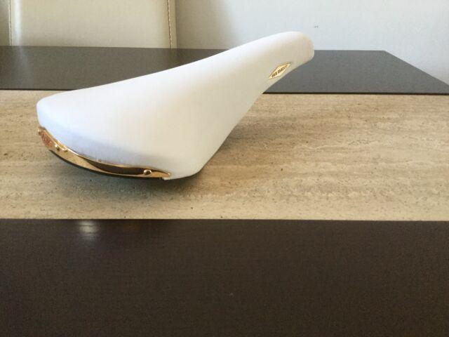 San Marco Rolls white saddle