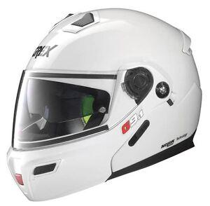 Grex-by-Nolan-G9-1-Evolve-Flip-Front-P-amp-J-Appr-Helmet-Gloss-White-Sz-S