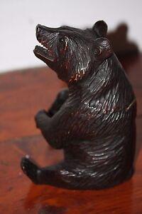 BLACK-FOREST-BEAR-WOOD-HAND-CARVED-TOBACCO-JAR-BOX-WOODEN