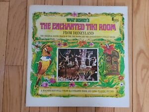 Walt Disney's The Enchanted Tiki Room Vinyl LP Disneyland 1968