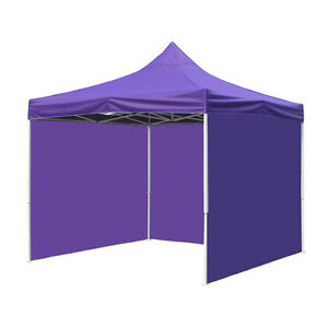 Image is loading 10X10-POP-UP-Wedding-Party-Tent-Folding-Gazebo-  sc 1 st  eBay & 10X10 POP UP Wedding Party Tent Folding Gazebo Beach Car Canopy ...